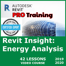Video Course Autodesk Revit 2020 2019 Training 42 English Lessons Tutorials