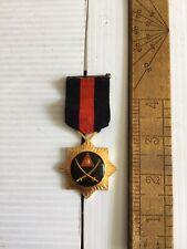 Iraqi Medal For Valor Saddam Era Full Size