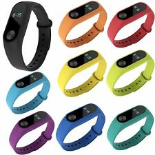 Silicone Wrist Band Fascia di Polso Braccialetto Cinturino Per Xiaomi Mi Band 2