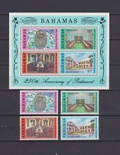 S16778) Bahamas MNH New 1979 Parliament 4v + S/S