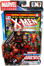Marvel Universe Comic Book Packs Colossus & Juggernaut Action Figures MIB X-Men