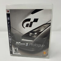 Gran Turismo 5 Prologue Sony PlayStation 3 PS3 Game Complete With Manual Tested