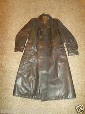 WW2 German Luftwaffe Leather Officer's Greatcoat - Ledermantel - VERY NICE!