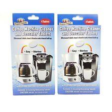 2pk Parker Bailey Coffee Machine Maker Cleaner Descaler Tablets Kcup Keurig Tea