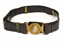 WW2 Japanese Navy IJN Officers Leather Belt Military from Japan 286