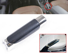 1pcs Universal Car Accessory Hand Brake Carbon Fiber Style Protector Decor Cover