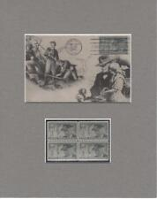 United Confederate Veterans Final Reunion First Day Issue Maxicard & Stamps Set