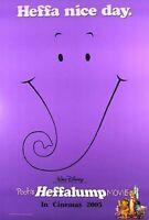 Pooh's Heffalump Film (Zweiseitig Advance) Original Filmposter