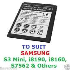 Samsung Galaxy S3 Mini 1900mAh Quality Replacement Battery i8190 i8160 S7562