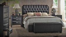Acme Furniture Ireland Queen 6 Piece Black Bedroom Set