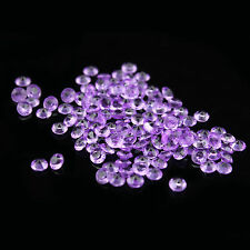 1000pcs 2ct 8mm Acrylic Diamond Confetti For Wedding Party Decoration