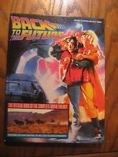Back To The Future - The Official Book of the Complete Movie Trilogy - HC 1990