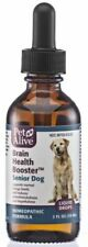 PetAlive Brain Health Boost Senior Dog, All-natural Herbal Remedy NEW