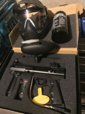 10 sets of paintball gear (markers, hoppers, masks, Co2 tanks)