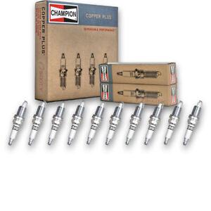 DODGE VIPER SRT-10 8.3 Coupé 02-06 Bosch Super CNG//LPG gaz Spark Plug FR7LC2