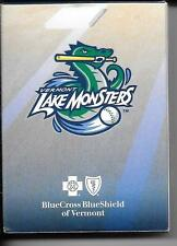 VERMONT LAKE MONSTERS Minor League Baseball TEAM PLAYING CARD SET Complete