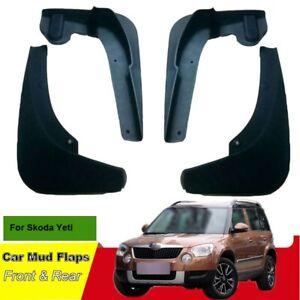 For Skoda Yeti 2016-2018 Car Mud Flaps Splash Guard Mudguard Mudflaps ABS Fender