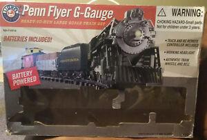 Lionel new 7-11191 Penn Flyer G-Gauge train set Battery Powered