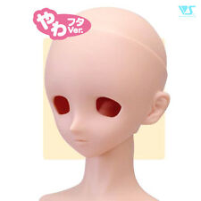 Volks Dollfie Dream Option Head DDH-03 without Makeup Eyeholes Open Normal Skin