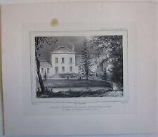 1831 VILLA RAOUL-ROCHETTE Marais Meung-sur-Loire lito Regnier Champin Engelmann