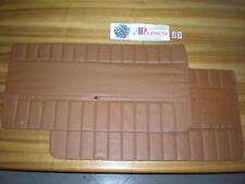 COPPIA PANNELLI PORTA (DOOR PANELS) ANTERIORE MARRONE TABACCO FIAT 127 2/P