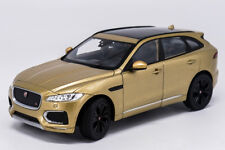 Welly 1:24 Jaguar F-Pace Diecast Model Sports Racing Car Toy Golden NEW IN BOX
