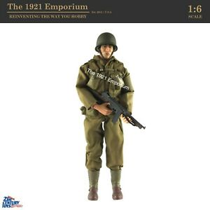 1:6 21st Century Toys Ultimate Soldier WWII D-Day US Army Ranger Soldier Figure