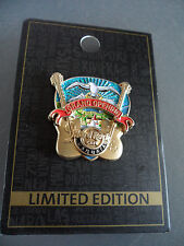 Hard Rock Cafe Ushuaia - Grand Opening - Guitar Pick with Logo Icon HRC Pin