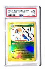 2002 Pokemon Expedition Butterfree-- Reverse Foil PSA 9 MINT #5