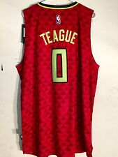 Adidas Swingman 2015-16 NBA Jersey Atlanta Hawks Jeff Teague Red Alt sz M