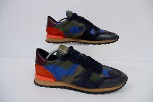 Valentino Trainers Sneakers Size 44 Uk 10 Gc Men's Rockstud