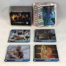 THE FANTASTIC FOUR MOVIE CELZ (Cards Inc 2005) COMPLETE Card Set w/ 12 HOLO-CELZ