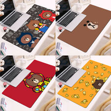 Line Friends Brown Sally Cony Gaming Mouse Pad Keyboard Desk Mat Large