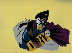 "GI JOE Cartoon 12.5x10.5"" Animation Cel FN+ 6.5 Iron Klaw SC 248 M2-7"