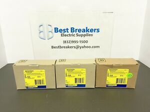 3 NEW IN BOX SQUARE D QO235GFI 35A CIRCUIT BREAKER 2P PLUG-ON