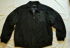 Pelle Pelle Men's 5XL Wool Jacket 5X Large Black