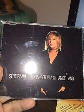 Barbra Streisand-Stranger In A Strange Land Import CD Single With Video!
