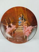 Viletta Plate The Waltz of the Flowers Shell Fisher Nutcracker Ballet Collection