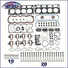 Head Gasket Set W/ Bolts Fits 04-14 Gmc Buick Cadillac Chevrolet 4.8L 5.3L Ohv
