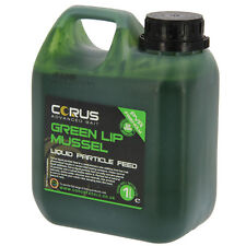 Green Lip Mussle Liquid Feed 1l Can Hydrate Boost Boilies Carp Fishing Attractor