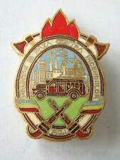 Romania FIREFIGHTER Badge, Contra Incendiilor -1