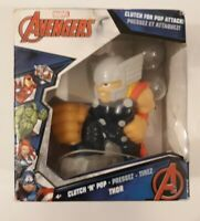 Marvel Avengers Clutch 'N' Pop Thor With Open Damaged Box