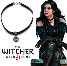 The Witcher 3 Yennefer Wild Hunt Medallion Amulet Choker Necklace Cosplay Gift