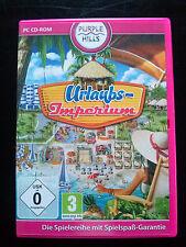 PC - Spiel / URLAUBS - IMPERIUM / Purple Hills Baue dein eigenes Urlaubsparadies