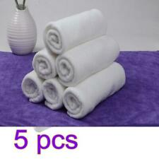 5PCS Cotton Towels Bath SPA Luxury Soft Plush Hand Face Beach Towel Home Hotel