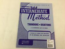 Rubank - Intermediate Method -Trombone Or Baritone - No. 65 -