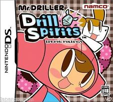Used DS NAMCO Mr. Driller Drill Spirits NINTENDO JAPANESE IMPORT