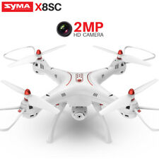3Battery SYMA X8SC RC Quadcopter Drone 2MP Camera 720P Video Altitude Hold Hover