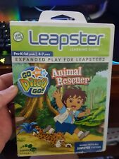 Leap Frog LEAPSTER - GO DIEGO GO - ANIMAL RESCUER -  FAST POST