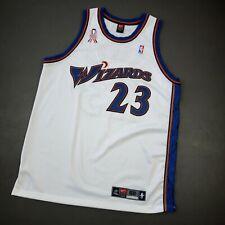 100% Authentic Michael Jordan Nike Wizards Jersey Size 52 2XL Mens 911 Patch